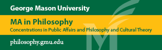 Check out the MA program in Philosophy at George Mason University!