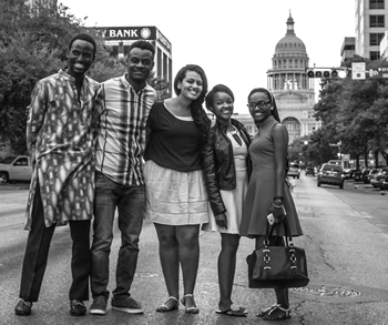African Leadership Bridge Students and Alums 2015