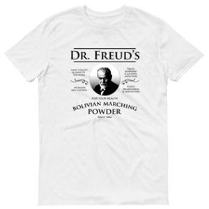 Dr Freuds Bolivian Marching Powder T-Shirt