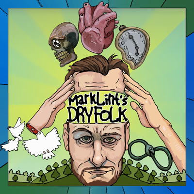 Mark Lint's Dry Folk album cover