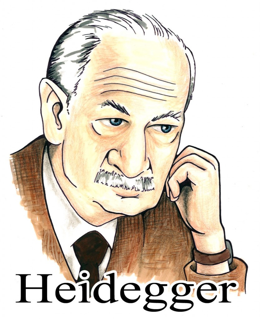martin heideggers answer to the question of being What does heidegger mean when he developes his  ontological question it supposes to answer-being  heidegger mean when he developes his crytics of.
