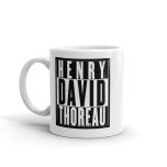 Henry David Thoreau Mug 001
