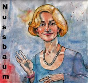 Martha Nussbaum by Solomon Grundy
