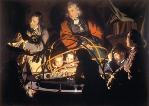 The Orrery by Joseph Wright of Derby (1766)