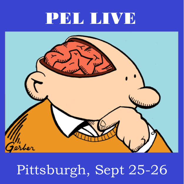 Come see the PEL crew live in Pittsburgh September 25th and 26th