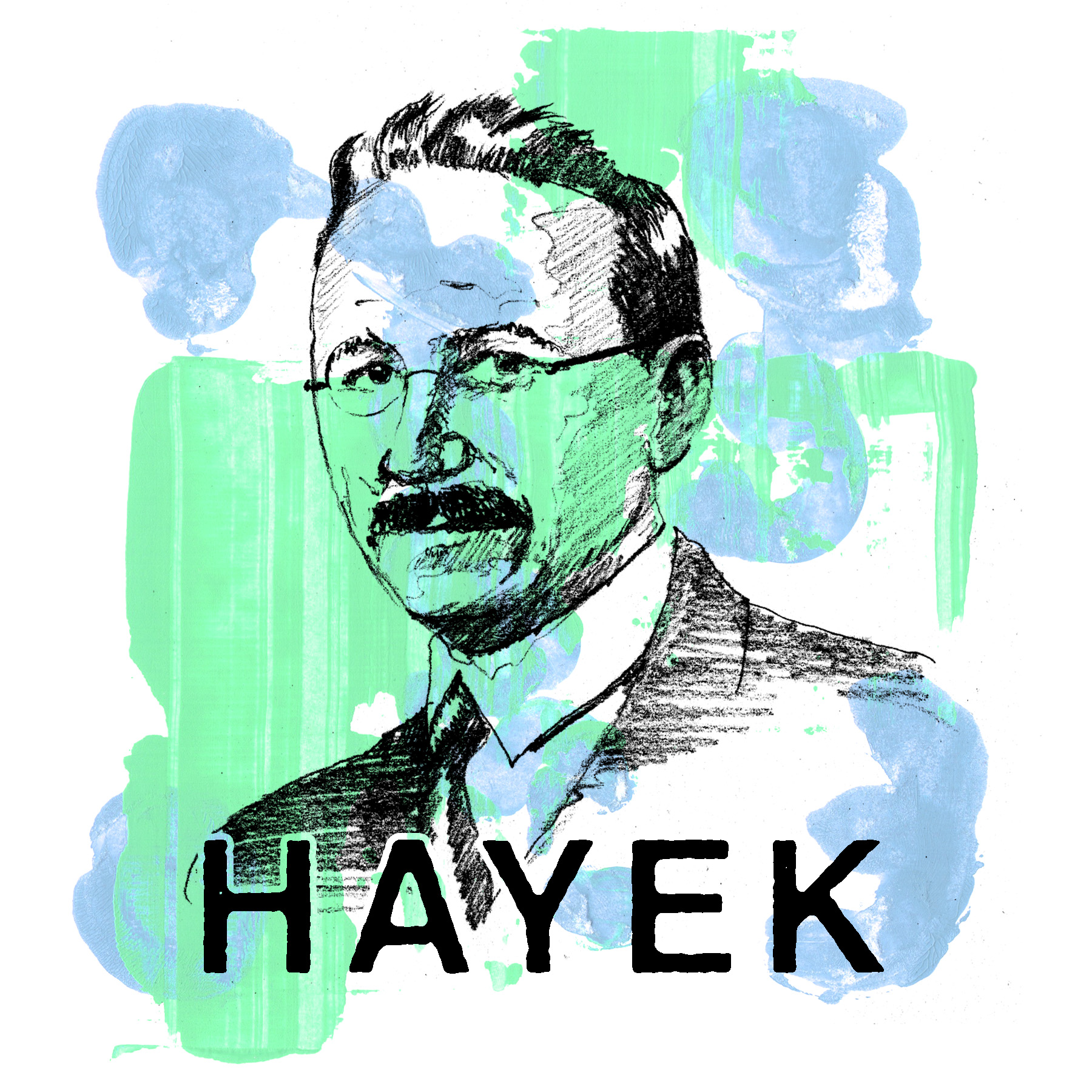 Hayek by Sterling Bartlett