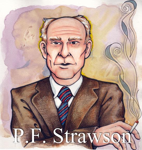 P.F. Strawson by Genevieve Arnold