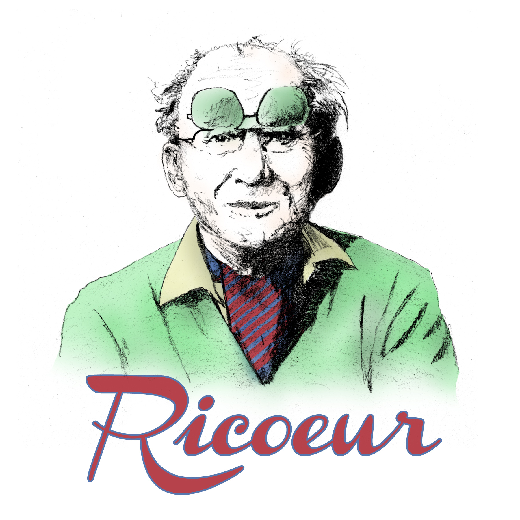 Paul Ricoeur by Sterling Bartlett