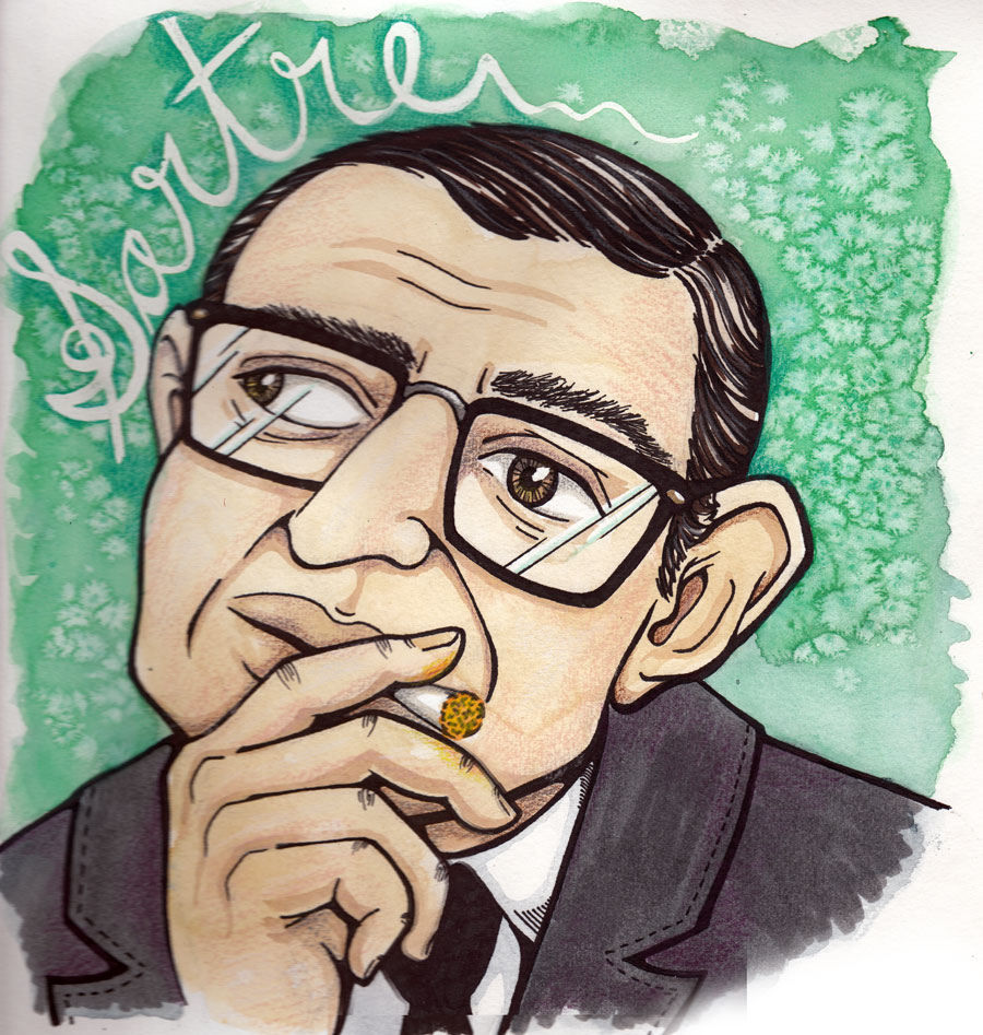 "Not School: Sartre's ""Nausea"""