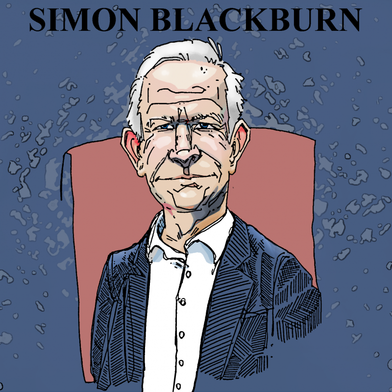 Simon Blackburn by Solomon Grundy