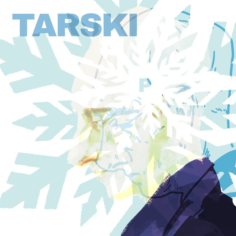 Alfred Tarski by Charles Valsechi