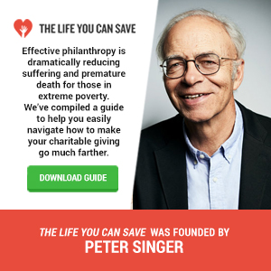 Get the Effective Giving Guide from The Life You Can Save