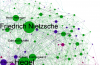 Gephi graph on Philosophers from drunksandlampposts.com