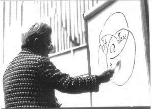 Jacques Lacan draws