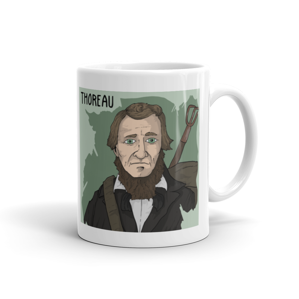 Super Socrates T Shirt Pel 1999 Select Options Thoreau Mug 11oz