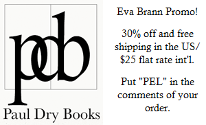Eva Brann Promo at Paul Dry Books