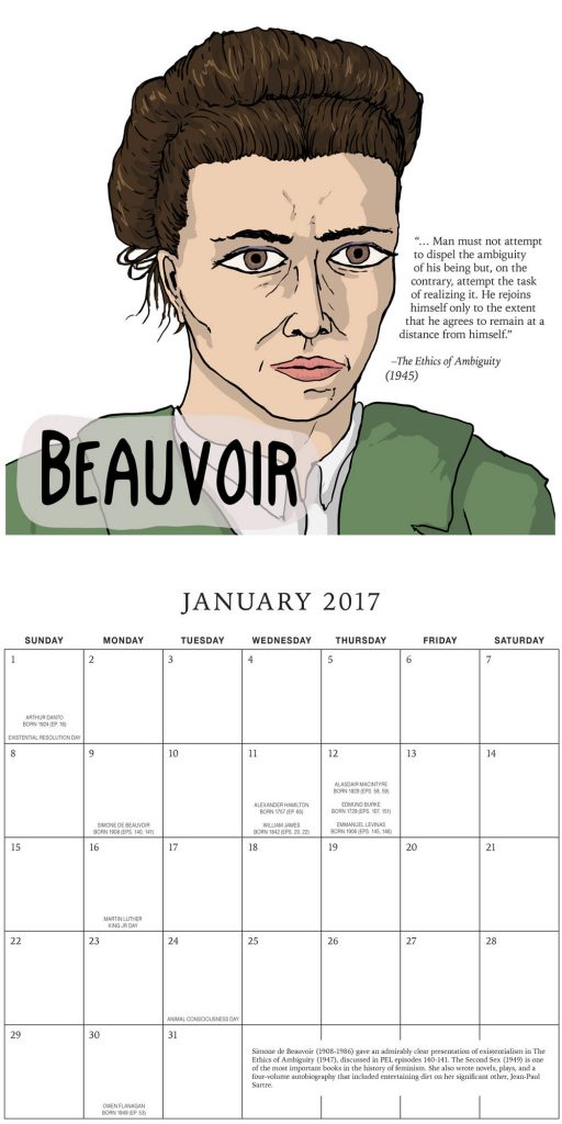 PEL 2017 Calendar