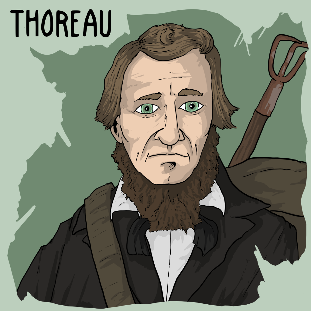 pel ep thoreau on living deliberatively the partially on henry david thoreau s walden 1854