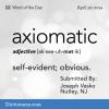 "Partially Naked Self-Examination Music Blog: ""Axiomatic"""